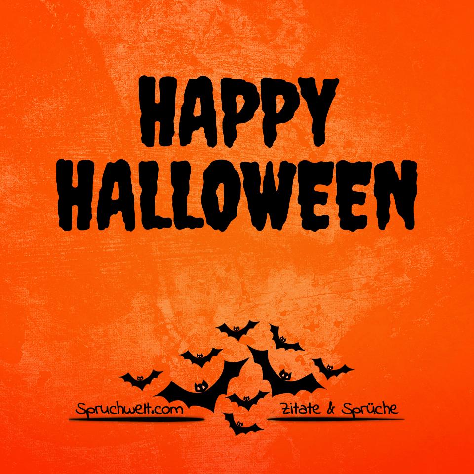 Schaurig schön: Happy Halloween! Grüße & Feiertagssprüche